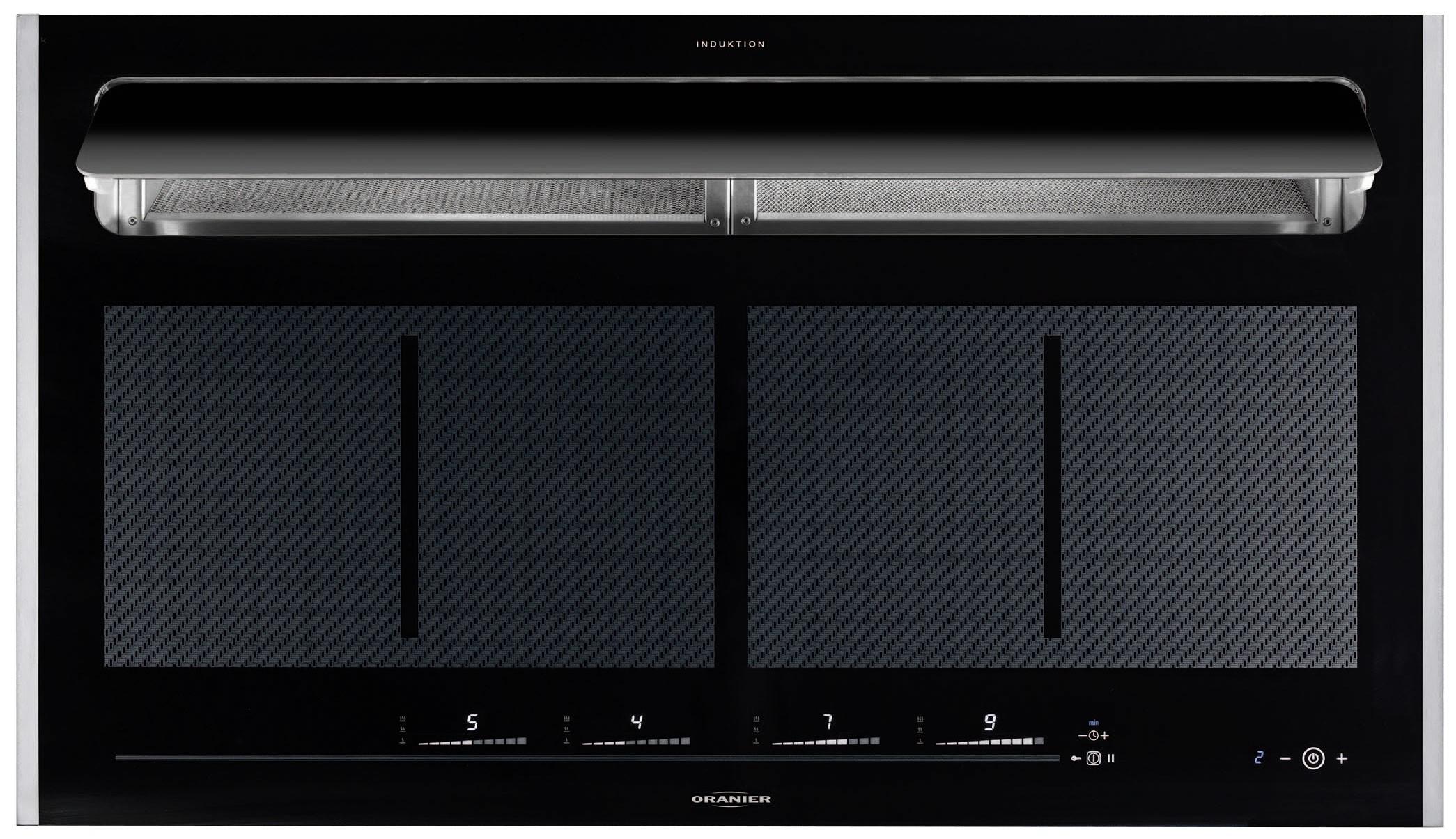 oranier fli 2068 grill 2068 11 induktion kochfeld autark kochzone kochmulde 59cm radio. Black Bedroom Furniture Sets. Home Design Ideas