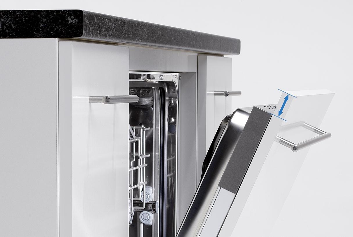 Front Geschirrspuler Vollintegriert Dekoration Bild Idee