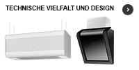 Dunstabzugshauben von ORANIER: Technische Vielfalt und puristisches Design