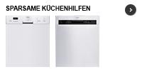 Sparsame Küchenhilfen: Moderne Geschirrspüler glänzen mit hoher Energie-Effizienz