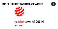 Frei schwebende Inselhaube gewinnt reddot design award 2014