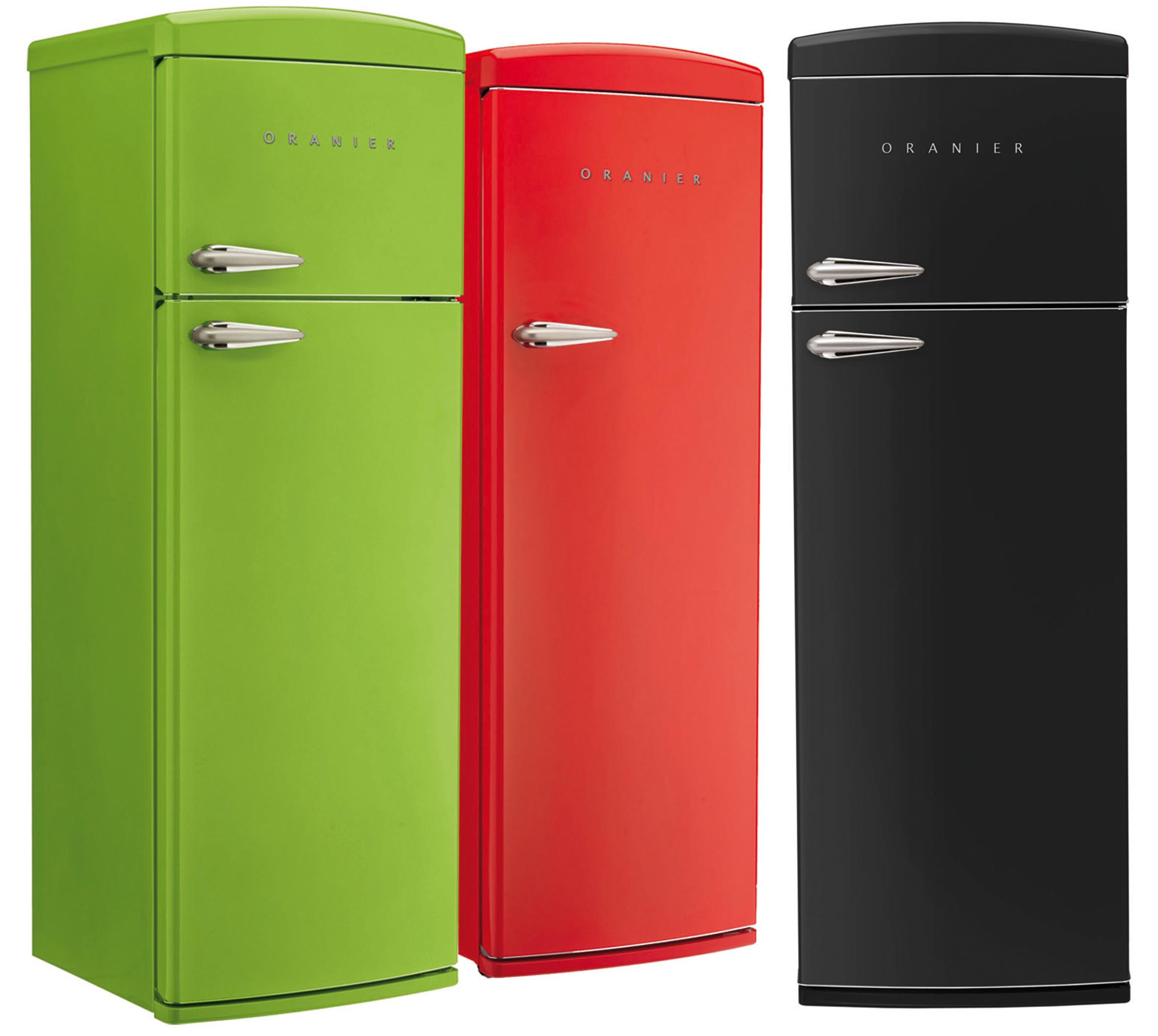 Standkühlschränke  Neue Farbenlehre: Retro-Standkühlschränke – jetzt auch schwarz wie ...