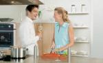 Kochen zu zweit mit Induktionsfläche